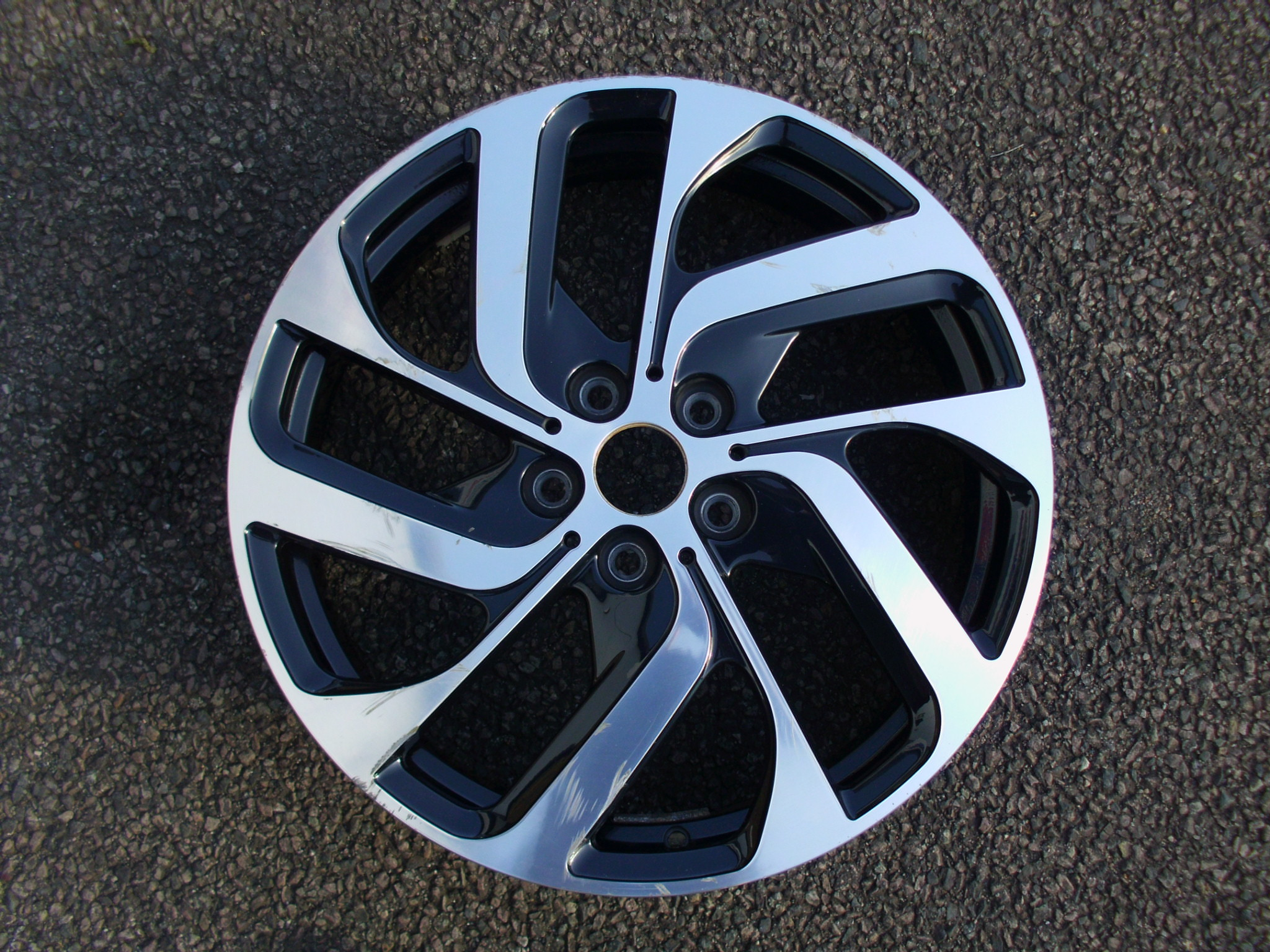 "USED SINGLE 19"" GENUINE BMW I3 REAR STYLE 428 ALLOY WHEEL"