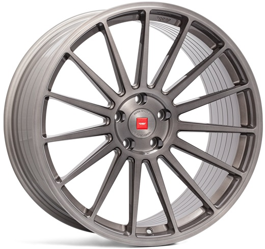 "NEW 19"" ISPIRI FFP2 ALLOY WHEELS IN CARBON GREY BRUSHED, DEEPER CONCAVE 9.5"" REARS"