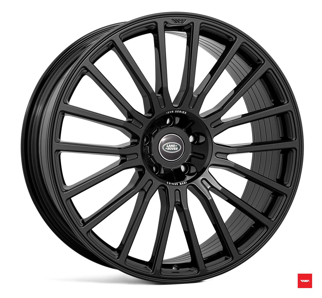 "NEW 22"" ISPIRI ISVR1 MULTISPOKE ALLOY WHEELS IN CORSA BLACK"