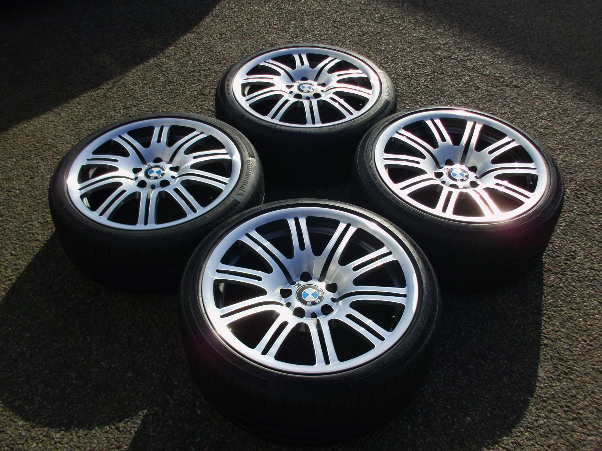 Used 19 Quot Genuine Bmw Style 67m Forged E46 M3 Alloy Wheels