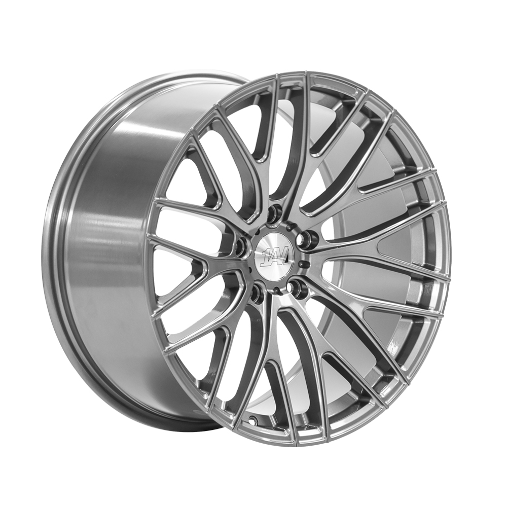 "NEW 19"" 1AV ZX2 ALLOY WHEELS IN GREY, WIDER 9.5"" REARS"