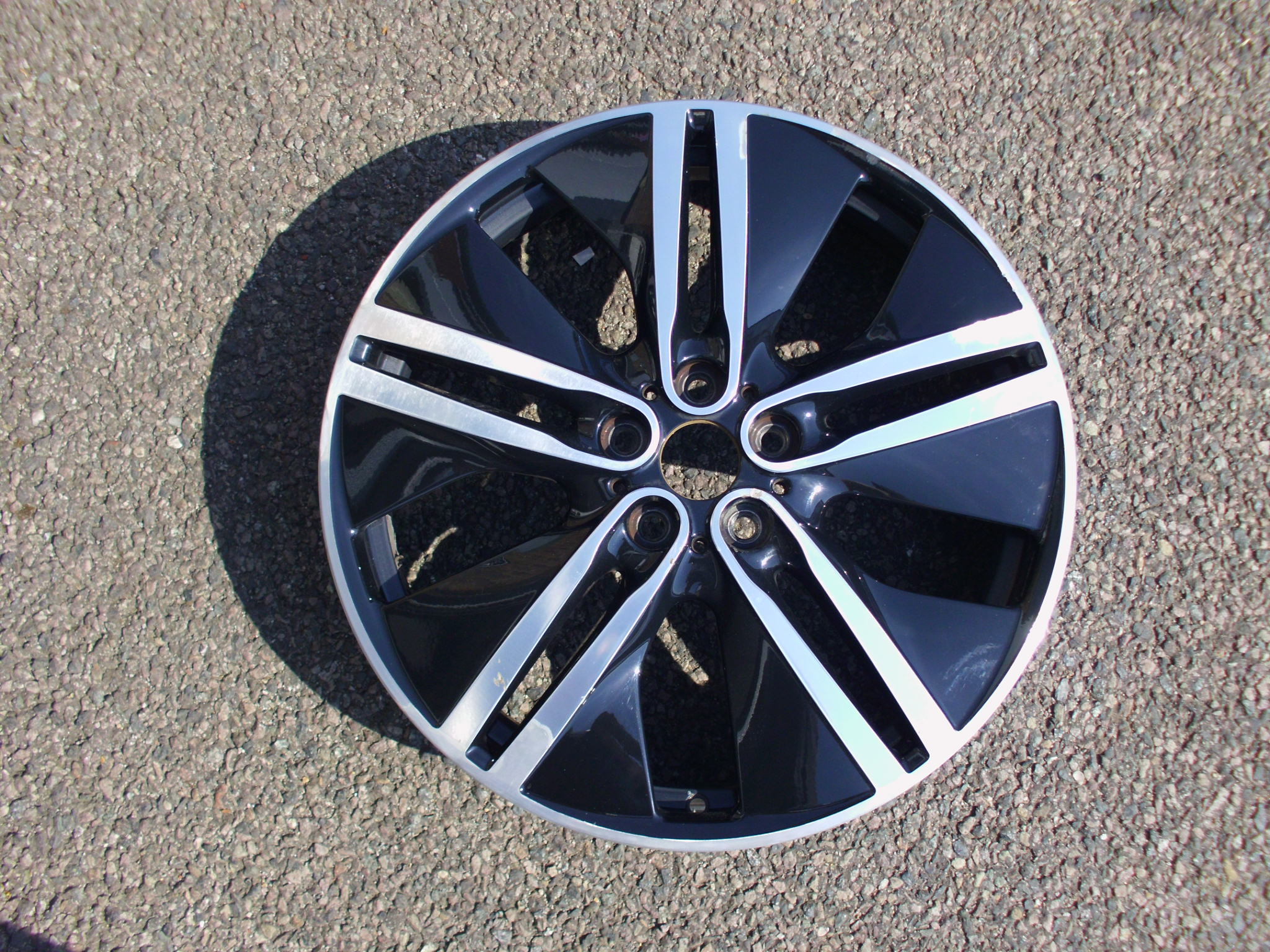 "USED SINGLE 20"" GENUINE BMW I3 FRONT STYLE 430 ALLOY WHEEL"