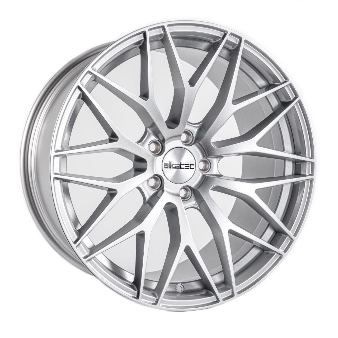 "NEW 18"" ALKATEC EVO-1 ALLOY WHEELS IN SILVER, WIDER 9.5"" REARS ET35/40"