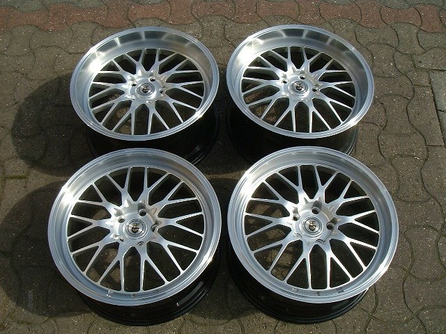 New 19 Quot Cades Tyrus In Silver With Deep Dish Mesh Alloys