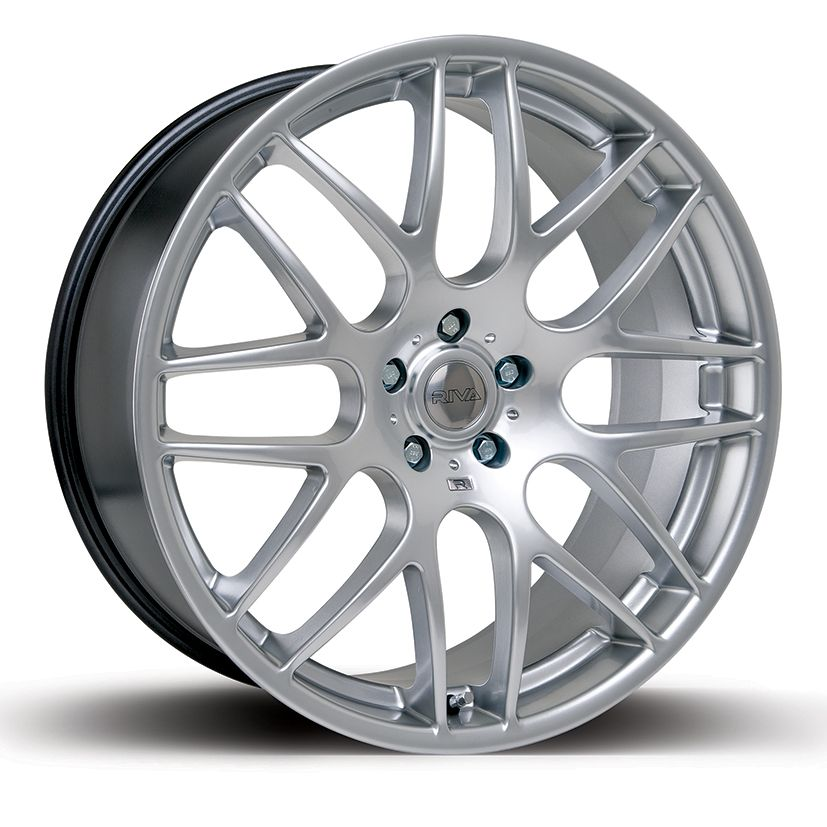 "NEW 18"" RIVA DTM CSL ALLOYS FINISHED IN SILVER, DEEPER LOOK, WIDER REAR'S"