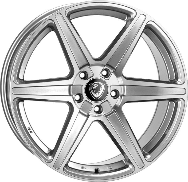 "NEW 19"" CADES THOR ALLOY WHEELS IN SILVER POLISHED"