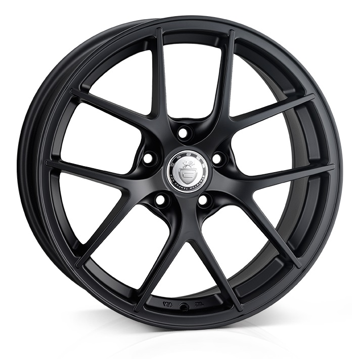 "NEW 18"" CADES SHIFT ALLOY WHEELS IN MATT BLACK RACE, WIDER 9"" REARS"