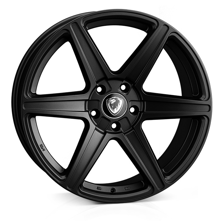 "NEW 19"" CADES THOR ALLOY WHEELS IN MATT BLACK"