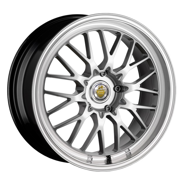 "NEW 19"" CADES TYRUS IN SILVER WITH DEEP DISH MESH ALLOYS WIDER 9.5"" REAR"