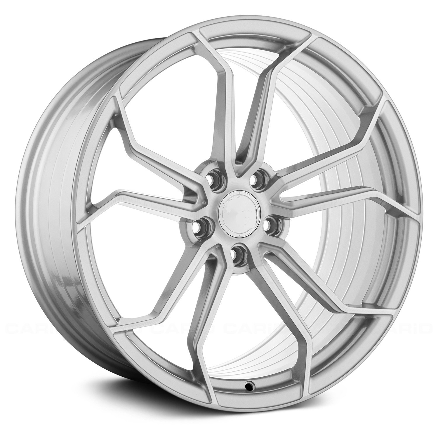 "NEW 19"" VEEMANN VC632 ALLOY WHEELS IN SILVER WITH POLISHED FACE, WIDER 9.5"" REAR"